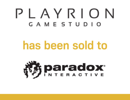 Playrion has been sold to Paradox Interactive